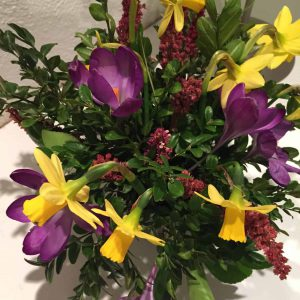Flowers from Ballymaloe Garden