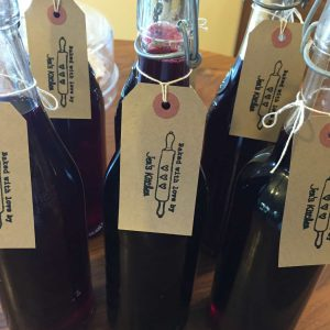 Blackcurrant Cordial ready for shipment.