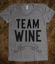 Team Wine- pinning my colours early