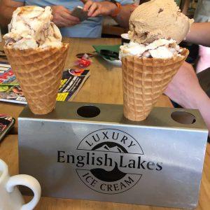 Ice Cream from Brambles in Windermere