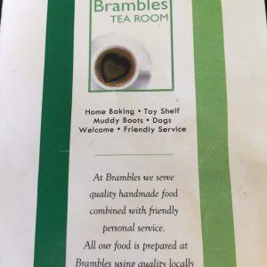 Brambles Tea shop in Windermere