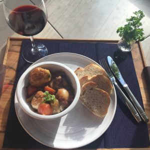 James Martin- Slow- Beef stew with dumplings
