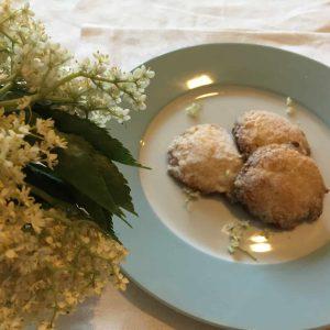Elderflower cookies
