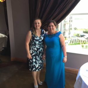Aisling and myself!
