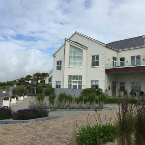 The outside of the Inchydoney Hotel nad Spa