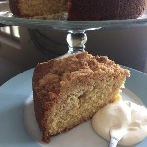 Burnt Butter Crumb Cake