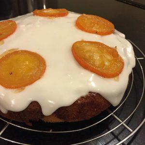 Iced Marmalade Cake