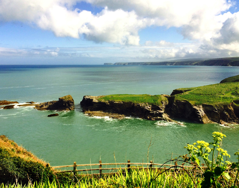 Beautiful, rugged coastal views from Seaward, self catering family holiday accommodation overlooking Port Gaverne in Port Isaac, Cornwall.