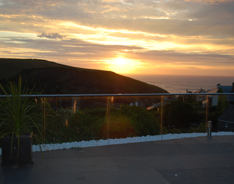 Watch the sun sink into the sea from The Terrace, a luxury holiday house in Port Isaac, Cornwall