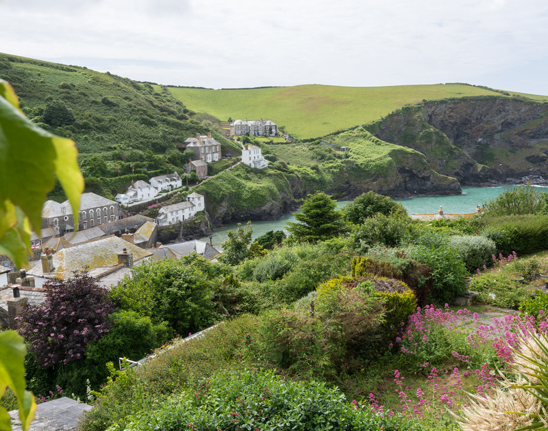 Beautiful harbour views from the master bedroom of Valencia House, a holiday rental in Port Isaac, Cornwall