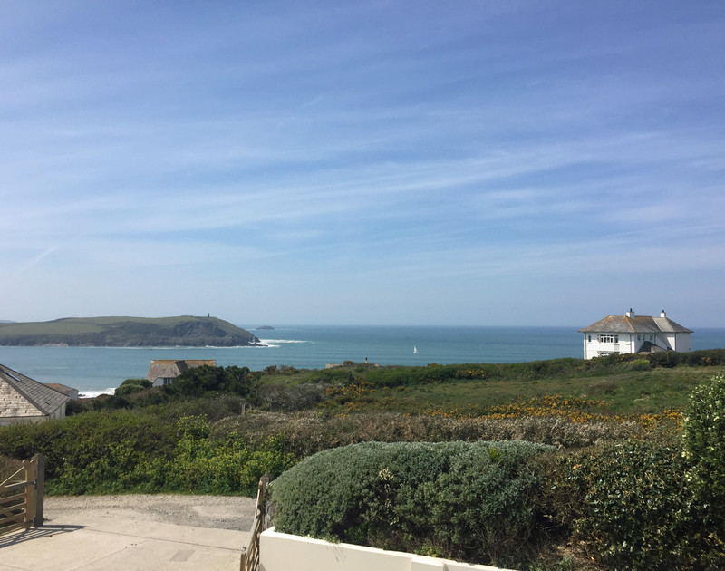 Enjoy stunning ocean views from Greenaway Heights, a luxury self-catering holiday house near Daymer Bay, in North Cornwall.