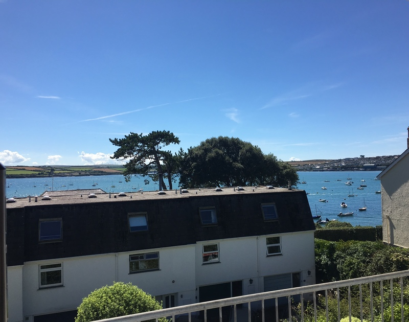 The view of the Camel Estuary over to Padstow from 10 Slipway, a contemporary self catering property in Rock, Cornwall.