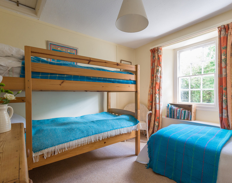Children will love sharing the triple bedroom at St Enodoc Cottage, Daymer Bay on the North Cornwall coast.