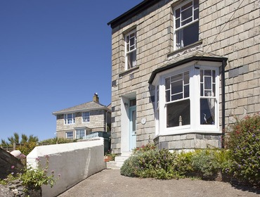 Private off the road parking at the front of Fronthill House, a traditional self catering holiday cottage in Port Isaac, Cornwall.