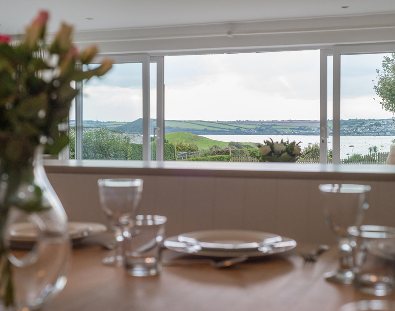 With far reaching views across to Padstow, diners at Sea Gulls will enjoy keeping track of the estuary traffic during dinner