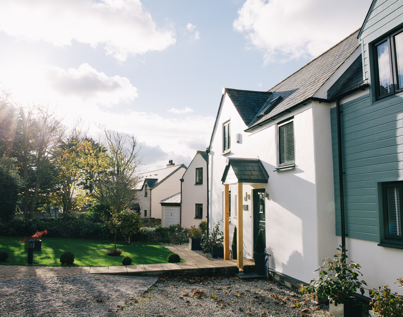 Myth Cottage is a new built self catering holiday house set in a quiet cul-de-sac on Rock Road in north Cornwall