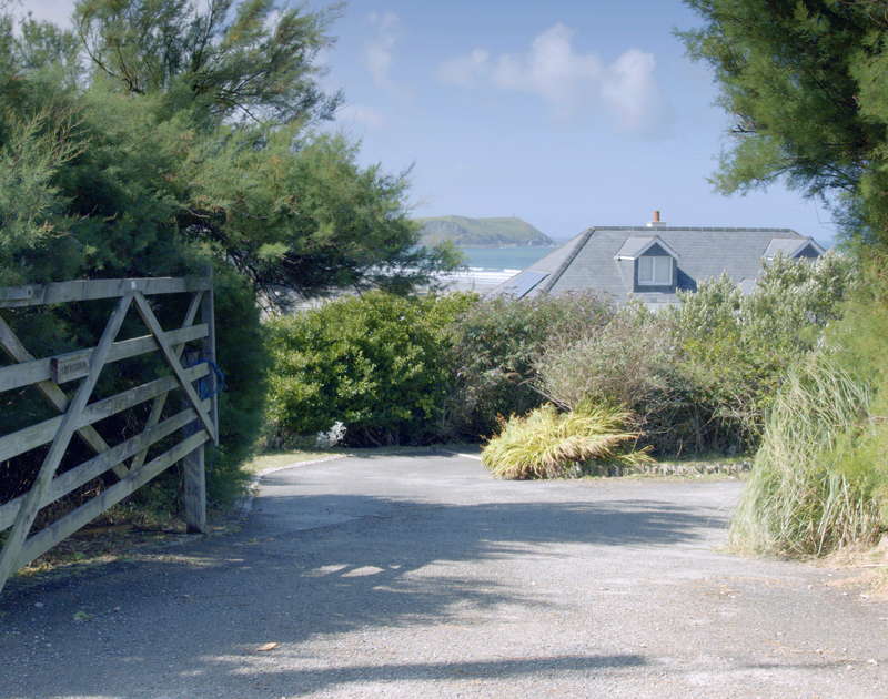Treverden in Polzeath on the north Cornwall coast, is reached via a private road and offers plenty of parking for holiday guests.