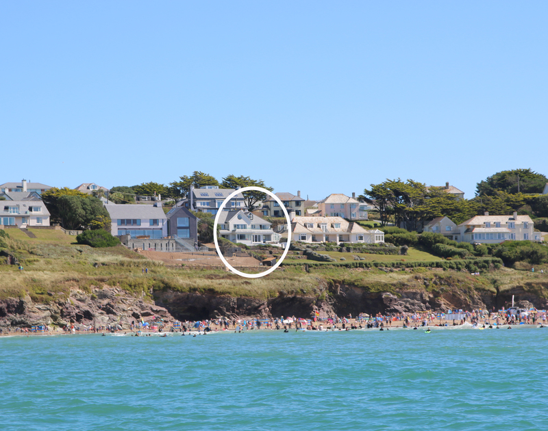 With direct access onto Polzeath beach, Treverden on the north Cornwall coast is the perfect coastal family holiday house.