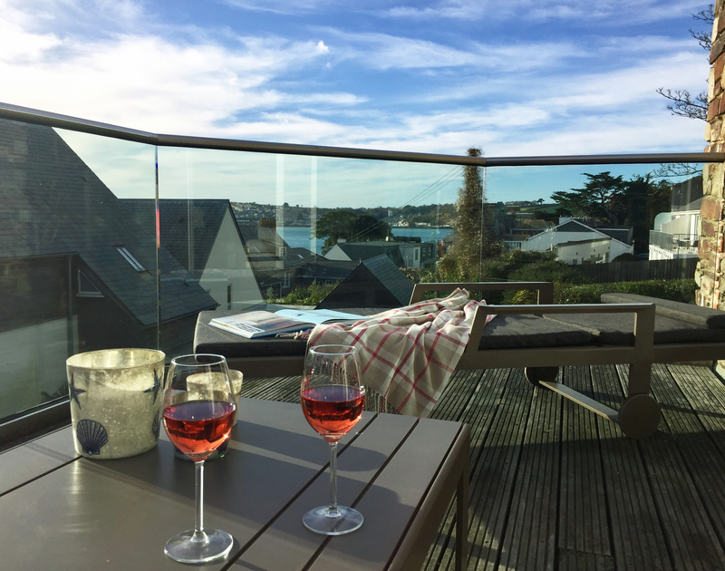 Soak up the afternoon sun and enjoy estuary views from the south facing balcony at Gull Rock 4 in Rock, Cornwall