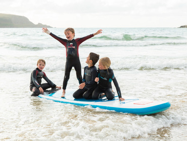 Enjoy February half term in north Cornwall and make the most of the beaches and sea