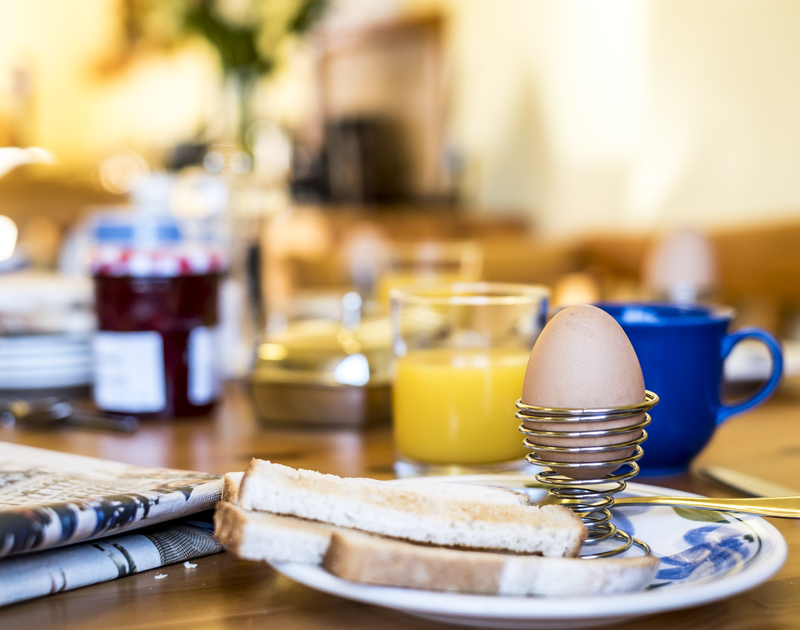 With a well equipped kitchen, you can afford to linger over mealtimes at Owls Rest in Rock, Cornwall