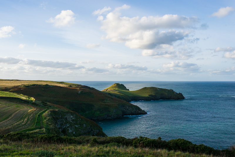 The National Trust headland at Pentire Point is a stunning walk to try from Polzeath beach