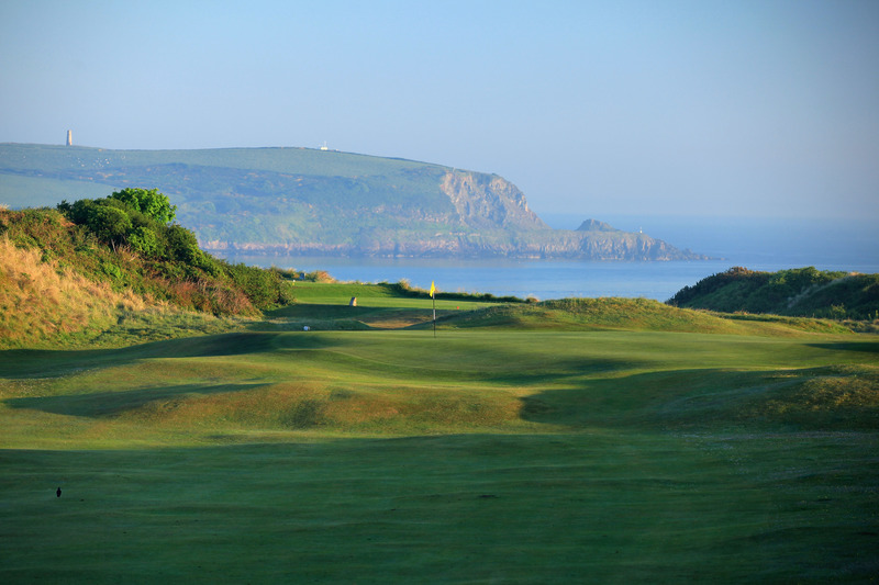 Walk through the stunning St Enodoc Golf course that borders the Camel Estuary and leads to the Jesus Well in North Cornwall