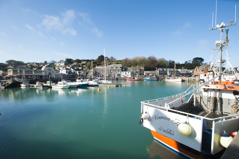 Padstow's bustling, historic harbour is the start of your walk to Stepper Point - Photo Adam Gibbard
