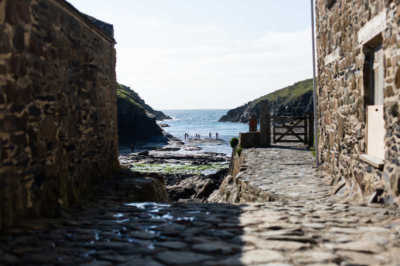The village of Port Quin was abandoned twice; once when the pilchards failed and once when all the men were lost at sea, and is a pretty spot to bathe, fish or picnic