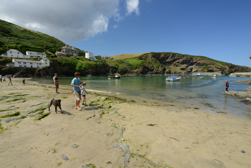 Your starting point on this walk is Port Isaac harbour, home to the Doc Martin TV series