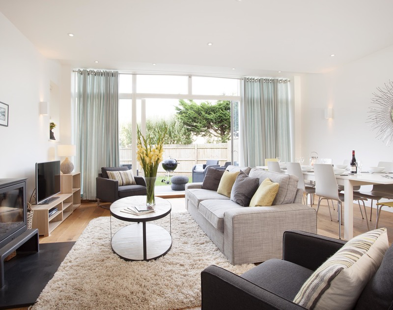 Stylish and contemporary living at its best in 3 The Sands, a holiday home to rent in Polzeath, Cornwall