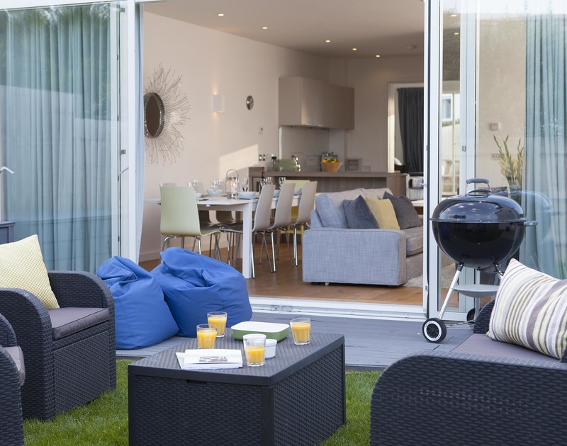 Make the most of the mild Cornish weather to enjoy outdoor living with your family when you stay at 3 The Sands, Polzeath