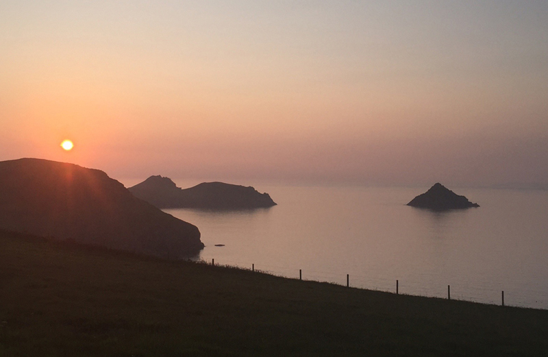 Enjoy stunning sunsets and breathtaking views when walking as you explore Pentire Point, The Rumps and the Mouls