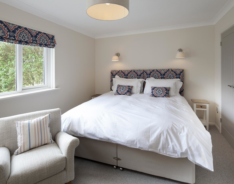 Newly refurbished double bedroom in Brae heights, a self catering holiday property in walking distance of Greenaway and Daymer Bay on the north Cornish coast.