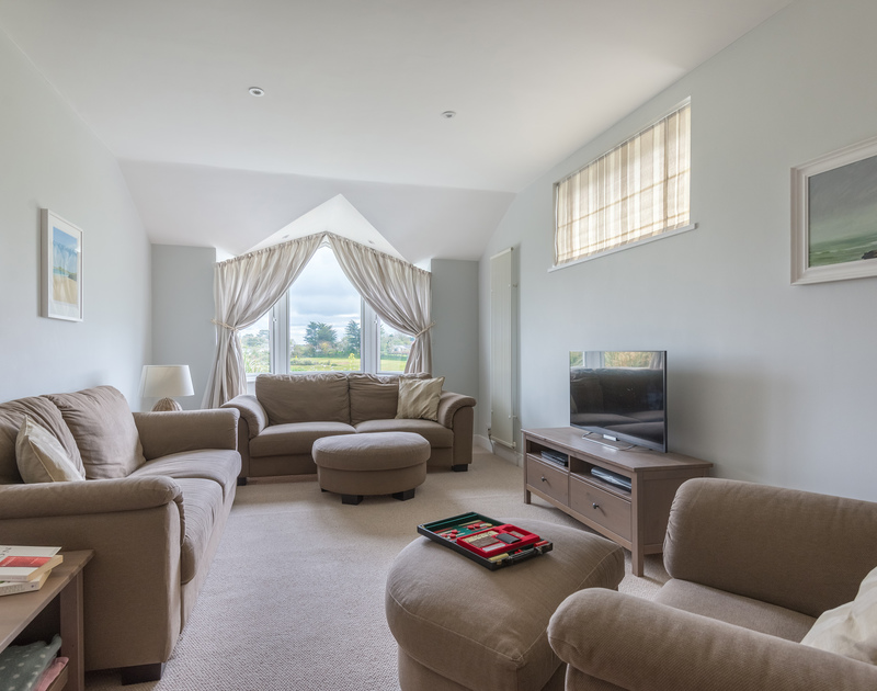 Penny Liggan has plenty of open plan areas but also a comfortable living room to indulge in a bit of T.V, or perhaps a board game or jigsaw puzzle.