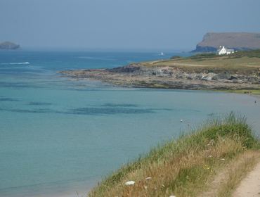 Enjoy stunning views from the top of Brae Hill Daymer Bay, Cornwall - you just have to climb it first!