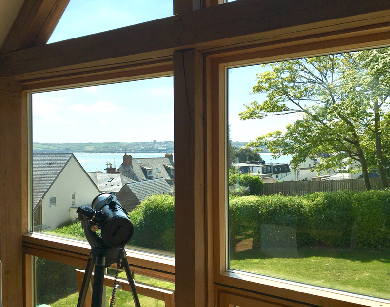 Enjoy wonderful views of the Camel Estuary and Padstow harbour on the other bank from the first floor at Gull Rock 4