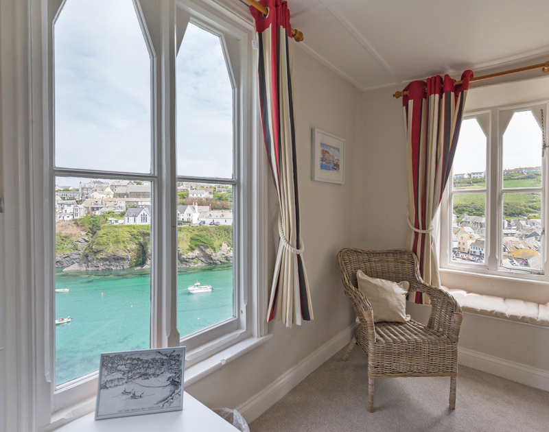 Picture windows with different aspects maximise the coastal and village views at Northcliffe