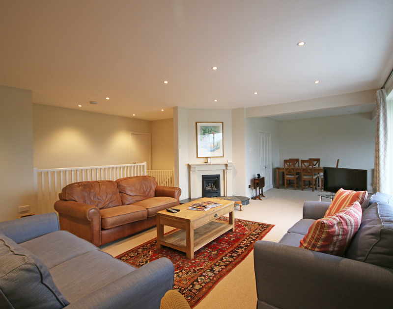 Large families can really spread out in Greywings and enjoy the inside and garden space