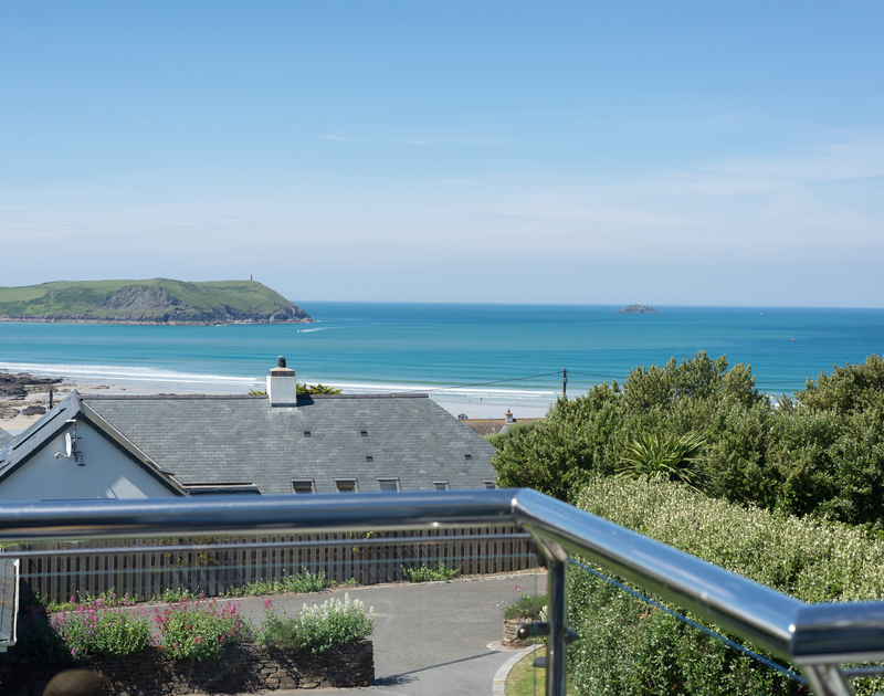 Make sure you have time to laze on Bryher's balcony and soak up fabulous seaviews.