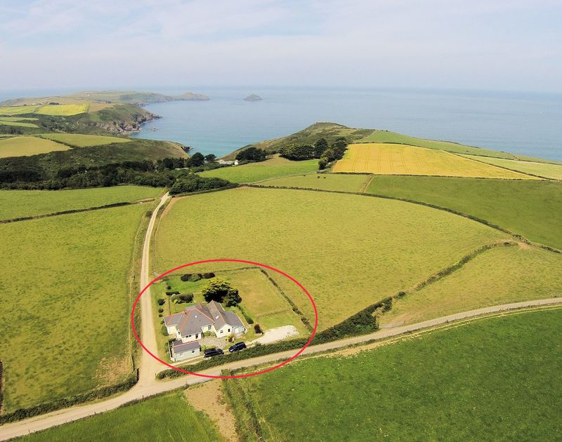 The incredible, privileged setting of Tresawl in Epphaven near Polzeath in Cornwall.