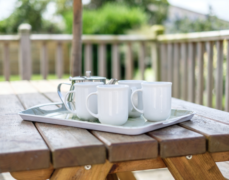 Embrace outdoor living at Cogenhoe in Rock, and make full use of its pretty garden and decked terrace