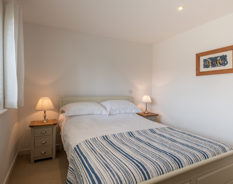 Another double bedroom in split level holiday house Trestar, in walking distance of Polzeath in North Cornwall.