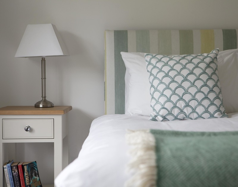 Drift off to a sound sleep in the second superking bedroom at Cherrytrees in Rock, Cornwall