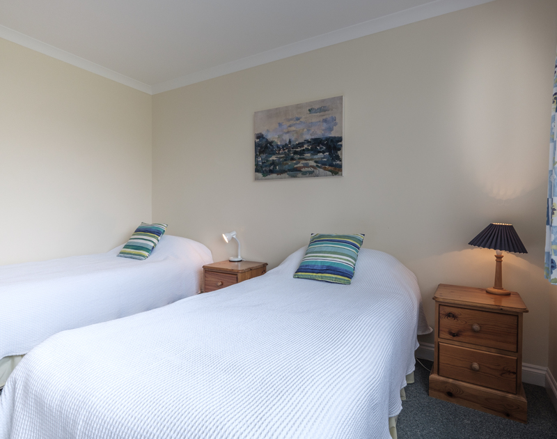 One of two ground floor bedrooms at self catering, holiday rental St Breock in Polzeath.
