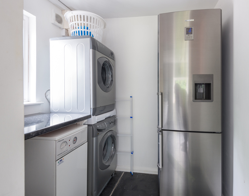 Well equipped utility room at Conifers, a self catering, holiday house to rent in Rock, Cornwall.