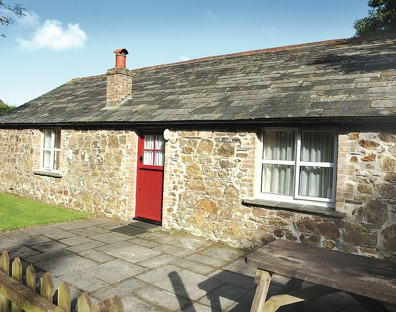 The exterior of Mill Pond, a self catering holiday rental in Tregwarmond,, Rock, North Cornwall.