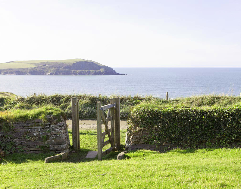 At Spindrift you have your own private gate leading directly onto the coastal footpaths and down to the secluded beach at Greenaway.