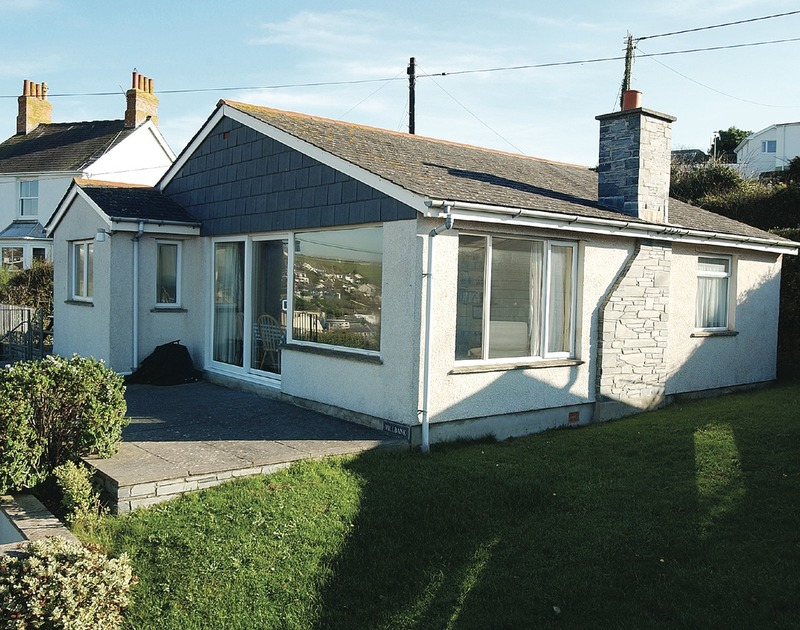The external view of Millbank, a self catering holiday cottage to rent in Polzeath, Cornwall