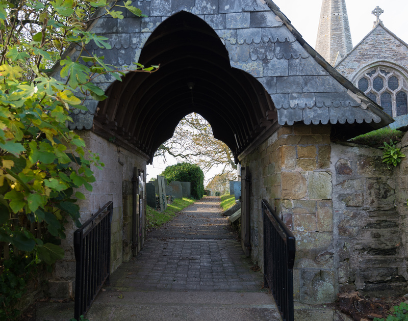 Follow the path and explore the 12th century St Menefreda church on your doorstep at self catering Honeysuckle Cottage in north Cornwall.